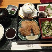京ぜん-ひれかつ定食(梅)