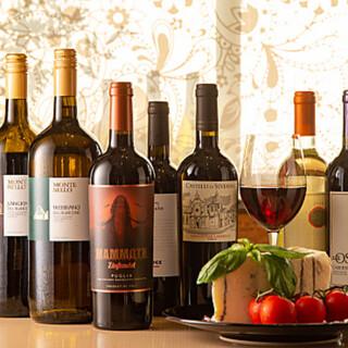 イタリア産にこだわった、安旨ワインをおたのしみいただけます♪