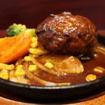 140075797 - 洋食屋さんのハンバーグ定食