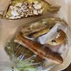 グテ - 料理写真:上がラムレーズンクリーム140円税別、下がサンドイッチBOX470円税別。