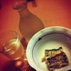 鎌倉 - 料理写真:突出しと日本酒