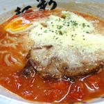麺彩 味くら - 完熟トマトラーメン
