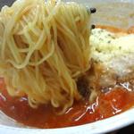 麺彩 味くら - かなり細麺