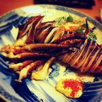 鎌倉 - イカの丸焼き