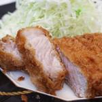 とんかつ石亭 八幡茶屋 - 料理写真:ろーすかつ定食(200g)