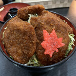 140080475 - ヒレソースカツ丼 200g   ¥1495(税別)