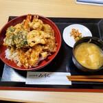 日本料理みうら - 天丼定食