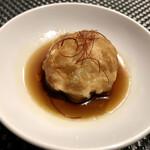 創作串料理 Dining Juicys - 九条葱の揚げまんじゅう 油淋ソース
