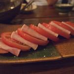 海豚 - 冷やしトマト