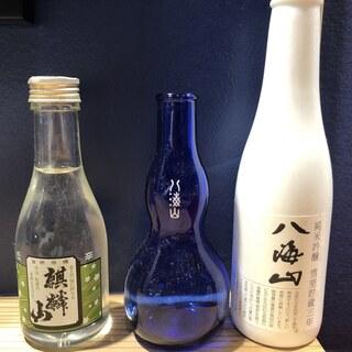 """""""米どころ""""新潟県産の日本酒は、お寿司との相性バッチリ◎"""
