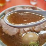 もっこす - チャーシューメン(醤油スープ)
