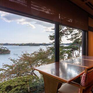全席オーシャンビュー!松島の絶景を満喫。