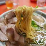 もっこす - チャーシューメン(麺)
