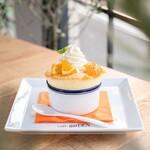 カフェ ガーデン - オレンジスフレ