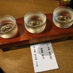 信州おさけ村 - 2012.7 日本酒の諏訪セット(500円)