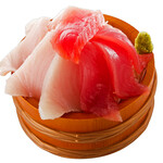 磯丸水産 - 鮪一番人気!富士2種盛り