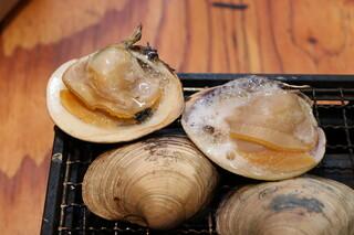 磯丸水産 - 白蛤(ホンビノス貝)の殻焼