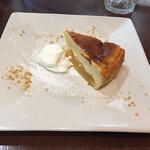 140118986 - りんごのバスクチーズケーキ