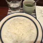アイリッシュパブ・ザ・ハカタハープ - ライス・青汁