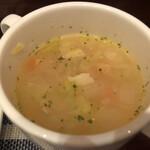 アイリッシュパブ・ザ・ハカタハープ - スープ