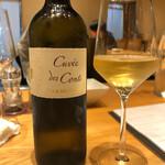 しろ - 二杯目のグラスワイン