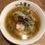 らーめんとカラアゲ あの小宮 - 比内地鶏だしの塩らぁ麺(780円)