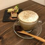 ひふみ・キッチン - ほうじ茶ラテ