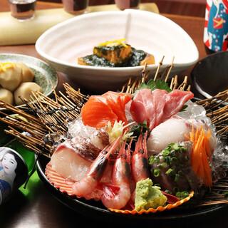 全国の鮮魚直送!新鮮な海の幸を<お刺身>や、<西京焼き>で!