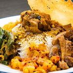 アプサラ レストラン&バー - 料理写真:カレープレート(スリランカ ライス&カレープレート)