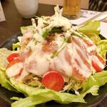 膳蔵 - 生ハムサラダ