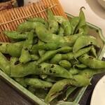 膳蔵 - 焼き枝豆