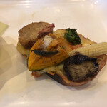 ベルテコ - 野菜のタルティーヌ