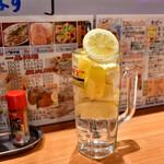 立飲みカドクラ - 数量限定 スーパーレモンハイ@500円