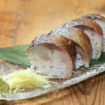 高知酒場103 - とろ鯖の棒寿司