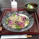 ダッタン蕎麦 寿庵 - ミニコース サラダ蕎麦