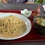 ダッタン蕎麦 寿庵 - 鴨つけダッタン蕎麦 相方注文