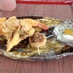 ダッタン蕎麦 寿庵 - ミニコース 天ぷら