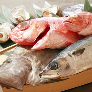 旬の海鮮料理!素材選びにもこだわっております