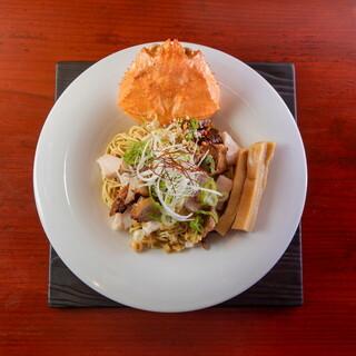 ずわい蟹まぶし麺
