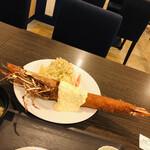 AB-kitchen - 特大天然エビフライ
