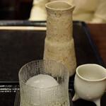 140155977 - 那由多(なゆた)の刻、ロックと蕎麦湯割で乾杯♪