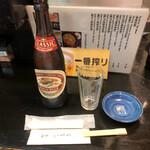 140160631 - 瓶ビール(キリン) ¥550別