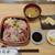 寿司安 - 生ばらちらし(ランチ) 1,100円