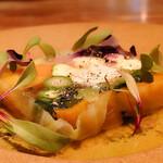 140167699 - オマールブルーのテリーヌ 有機野菜の彩り