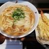 Mugika - 料理写真:かけうどん(大盛)と天ぷら