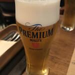 イタリアンバル キクバル - ビールで乾杯