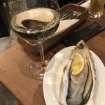 イタリアンバル キクバル - そしたら白ワインかな バッソサルドヴェルメンティーノ
