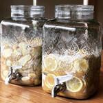 あんだんち食堂 - ドリンク写真:自家製シロップのジュースも美味しいです。