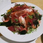 魚や 翻車魚丸 - お刺身も野菜も鮮度良し♪