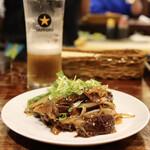 大衆酒場 ひらやま - 牛ハラミ焼肉(580円)